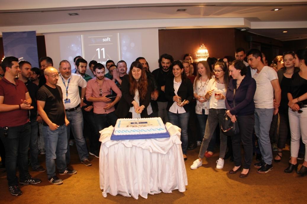 Simsoft'un 11. Kuruluş Yıldönümü Etkinliği