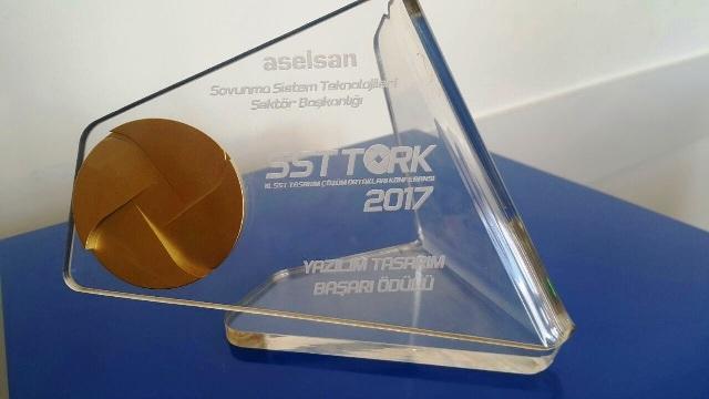Aselsan'dan Simsoft'a Yazılım Tasarım Başarı Ödülü