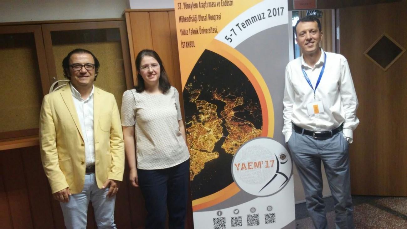 Yıldız Teknik Üniversitesi (YAEM) 37. Ulusal Kongresi'nde Simülasyon Teknolojilerinin Gelişimi Eğitimi Verdik