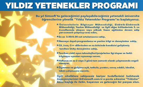 Yıldız Yetenekler Programı